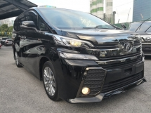 2017 TOYOTA VELLFIRE 2.5 ZA Golden Eyes SUN MOON ROOF ===== PREMIUM SELECTED UNIT=====