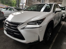 2016 LEXUS NX 200 VL sunroof head up display power boot power seat Unregistered
