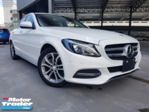 2015 MERCEDES-BENZ C-CLASS 2015 Mercedes C180 Avantgarde Japan Spec Keyless Radar System Blind Spot Assith LKA System Unregister for sale