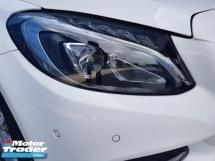 2015 MERCEDES-BENZ C-CLASS 2015 Mercedes C180 Avantgarde Japan Spec Keyless Radar System Blind Spot Assith LKA System Unregister for sale