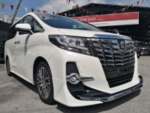 2017 TOYOTA ALPHARD SC ALPINE SET AUDIO SUN MOON ROOF =PREMIUM SELECTED UNIT=