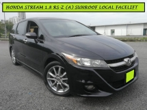 2011 HONDA STREAM RSZ S PACKAGE 1.8 (A) SUNROOF FACELIFT FREE WARRANTY MPV