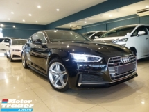 2017 AUDI A5 (NEW Facelift) HIGHEST Grade CAR. Genuine LOW Mileage. 2.0 SportBack S.Line Full Spec. A4 S4 S5 A7