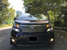 2008 TOYOTA VELLFIRE 2.4Z PLATINUM - DEEP PURPLE COLOR SUPERB CONDITION