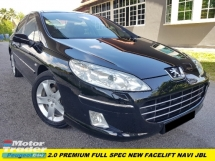 2011 PEUGEOT 407 PREMIUM FACELIFT NAVI SOUND SYSTEM NAVI PLAYER TIP TOP CONDITION ONE MALAY OWNER