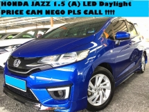 2015 HONDA JAZZ 1.5 (A) FULL BODYKIT  GOOD CONDITION PRICE CAN NEGO