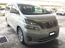 2011 TOYOTA VELLFIRE 2.4 (A) Registered 2016