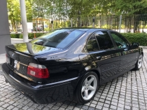 1999 BMW 5 SERIES BMW E39 525I M SPORTS (A) M SPORTS WITH NUMBER PLATE  WGR 38