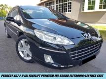 2011 PEUGEOT 407 407 FACELIFT PREMIUM JBL SYSTEM NAVI GPS LEATHER SEAT ONE LADY OWNER