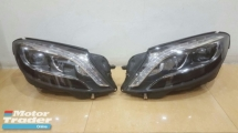 MERCEDES BENZ W222 S400 HEAD LAMP Half-cut