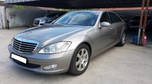 2007 MERCEDES-BENZ S-CLASS S300L V6 9A) REG 2008, CKD LOCAL MODEL, ONE DIRECTOR OWNER, MILEAGE DONE 92K KM, FREE 1 YEAR GMR CAR WARRANTY