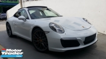 2017 PORSCHE 911 CARRERA S 3.0 (991.2) Unregister