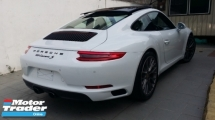 2017 PORSCHE 911 CARRERA S 3.0 Unregister (991)