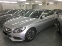 2018 MERCEDES-BENZ C-CLASS C180 AVANTGARDE 1.6 (A) LIKE NEW