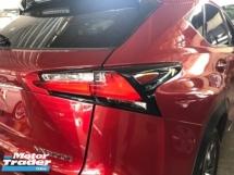 2015 LEXUS NX Unreg Lexus NX200T F Sport 2.0 Turbo Camera Keyless Push Start