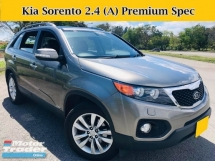 2012 KIA SORENTO 2.4 (A) Petrol Full Leather Seats Keyless Push Start 7 Seater SUV 4 New Tyres