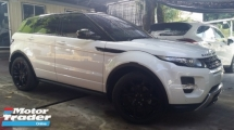 2015 LAND ROVER EVOQUE 2.0 Dynamic Unregister