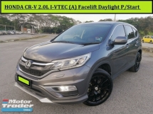 2015 HONDA CR-V  CR-V 2.0L I-VTEC (A) FACELIFT CRV Full Bodykit Leather P/Start SUV CRV HRV HR-V
