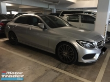 2016 MERCEDES-BENZ C-CLASS C300 AMG LINE JUNE 2016 2.0 FREE SERVICE VOUCHER