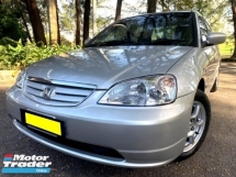 2002 HONDA CIVIC 1.7 VTI-S (A) VTEC [SELL BELOW MARKET]