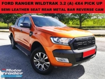 2015 FORD RANGER WILDTRAK 3.2 FACELIFT 4X4 4WD PICK UP SEMI LEATHER SEAT REVERSE CAMERA REAR METAL BAR