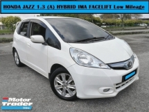 2014 HONDA JAZZ 1.3 Hybrid (A) FACELIFT WARRANTY 40K+Mileage