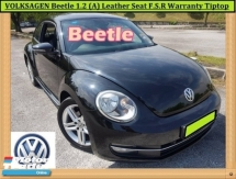 2012 VOLKSWAGEN BEETLE 1.2 TSI Coupe (A) FREE ACCIDENT! SERVICE RECORD WITH VW! FREE WARRANTY