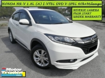 2015 HONDA HR-V 1.8 i-VTEC (A) V-SPEC F.S.R UNDER WARRANTY! Push Start DVD Reverse Camera