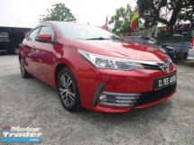 2017 TOYOTA ALTIS 2017 Toyota Altis 1.8G (A) Direct Owner Full Spec