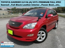 2004 TOYOTA HARRIER 300G PREMIUM L PACKAGE 3.0 (A) SUNROOF POWER BOOT SUV 1 OWNER