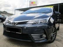 2016 TOYOTA ALTIS 1.8 G (A) Full Services Record