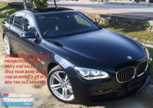 2014 BMW 7 SERIES 2014 BMW 740i M-SPORT 3.0 TWIN POWER TURBO JAPAN SPEC UNREGISTERED CAR SELLING PRICE RM 268,000.00