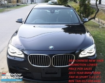 2014 BMW 7 SERIES 2014 BMW 740i M-SPORT 3.0 TWIN POWER TURBO JAPAN SPEC UNREGISTERED CAR SELLING PRICE RM 268,000.00