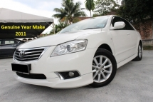 2011 TOYOTA CAMRY 2.0 (A) New Facelift (Ori Year Make 2011)(Full Loan 9 Years)(1 Owner)