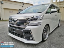 2015 TOYOTA VELLFIRE ZG EDITION  (FULL SPEC)