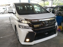 2016 TOYOTA VELLFIRE 2.5 GOLDEN EYE PRE CRASH SUNROOF 360 CAMERA JAPAN UNREG