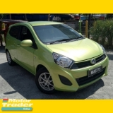 2014 PERODUA AXIA 1.0 G (A) /ONELADY OWNER/ACC FREE/ STILL ORI PAINT/ORI MILLE/ EASY LOAN