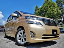 2010 TOYOTA VELLFIRE 2.4 (A)38,000KM ONLY S/ROOF H/THEATERT ONE OWNER PROMOTION
