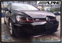 2014 VOLKSWAGEN GOLF GTI 2.0 (UNREG) CLASSIC SEAT ALPINE MONITOR