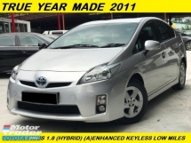 2011 TOYOTA PRIUS 1.8 (HYBRID) PREMIUM FACELIFT MODEL LOW MILEAGE 1 LADY MALAY OWNER
