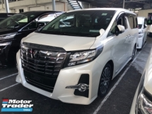 2016 TOYOTA ALPHARD Unreg Toyota Alphard SC 2.5 Sunroof 360view PowerBoot Push Start 7G