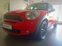2012 MINI Cooper S Countryman 6speed manual