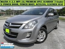 2011 MAZDA 8 2.3L (A) MPV Premium Hi-Spec! Dual P/Door Sunroof P/Boot Keyless Leather Seats