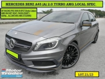 2015 MERCEDES-BENZ A-CLASS A45 AMG 2.0 (A) TURBO 4MATIC LOCAL 30K+Mileage Only! A250 A200