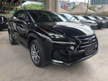 2014 LEXUS NX NX200t Version L 2.0 Turbocharge 235hp Sun Roof Touch Pad Head Up Interface Sport Eco Drive Select Dynamic Radar Cruise Control Blind Spot Monitor Power Boot Intelligent LED Paddle Shift Bluetooth Connectivity Unreg