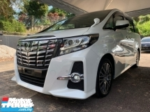 2017 TOYOTA VELLFIRE 2.5 SC SUNROOF 3 POWER DOOR PILOT SEATS UNREG