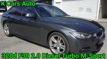 2016 BMW 3 SERIES 320d DIESEL TURBO FACELIFT FULL SERVICE AND WARRANTY BY BMW UNTIL 2020