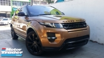 2015 LAND ROVER RANGE ROVER 2.0 Evoque Full Dynamic Limited Edition Unregister
