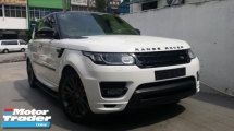 2016 LAND ROVER RANGE ROVER SPORT 3.0 HST Limited Edition Extra 40HP Unregister