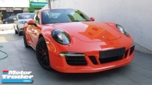 2015 PORSCHE 911 CARRERA 4 GTS 3.8L Unregister (991)